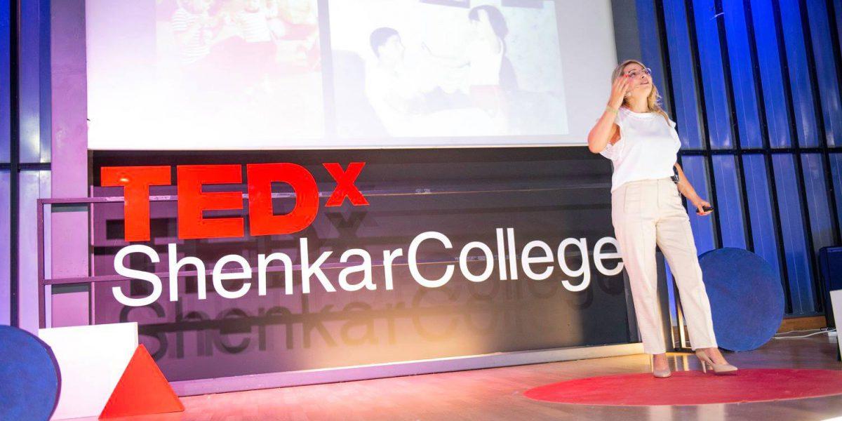 שירלי שלום כהן מרצה ב TED